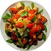 Вкусные летние салаты с крабовыми палочками рецепты