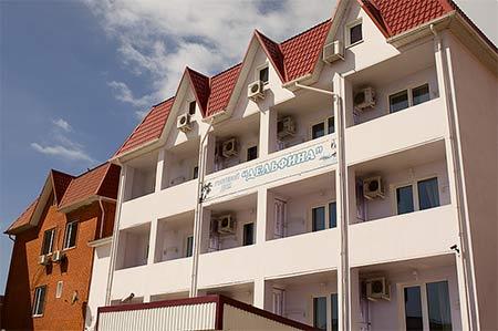 Гостиница ДЕЛЬФИНА  Ольгинка