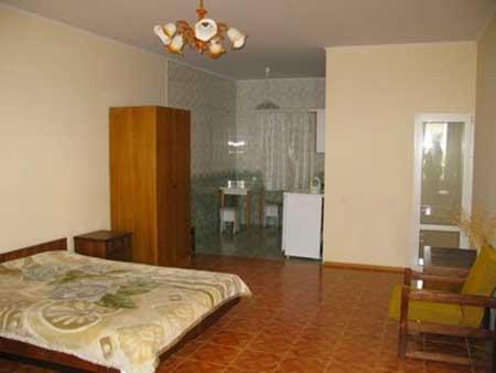 Отель ОТРАДА в поселке Кацивели