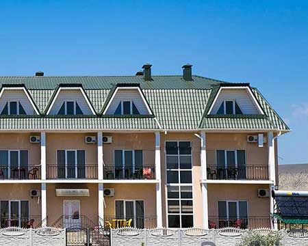 Гостевой дом МАКЕДОНИЯ в поселке Коктебель Крым
