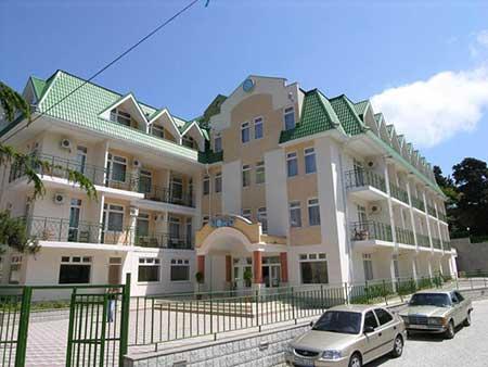 Отель НОРД в поселке Партенит в Крыму