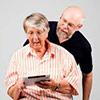 Смс поздравления пожилым людям