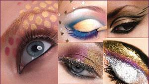 Новогодний макияж, макияж на Новый год 2011 фото