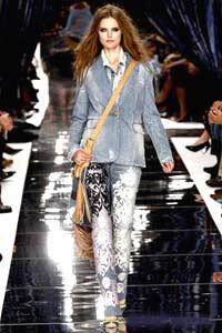 Модные джинсы 2011, современная молодежная мода, фото