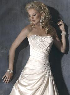 Красивые свадебные платья 2011