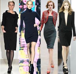 Маленькое черное платье 2010 - 2011