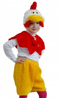 костюм Петуха на Новый год