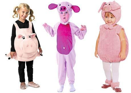 костюм Свиньи на Новый год