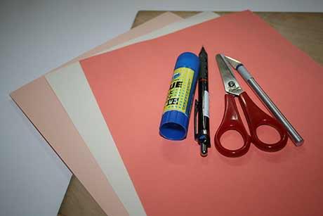 Как сделать бумагу своими руками для открытки
