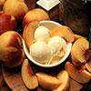 Десерт из персика