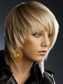 Прямые волосы средней длины 3